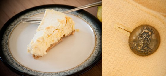 Fashion Fiday Meyer Lemon Cheesecake & Cheddar Popover